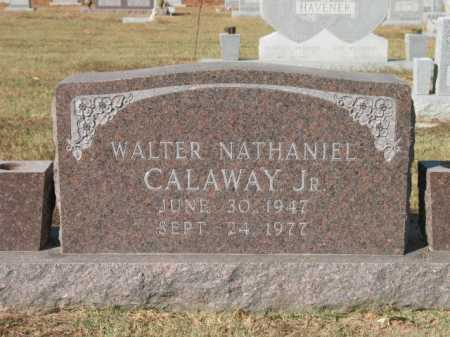 CALAWAY, JR., WALTER NATHANIEL - Lee County, Arkansas | WALTER NATHANIEL CALAWAY, JR. - Arkansas Gravestone Photos