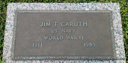 CARUTH (VETERAN WWII), JIM T - Lee County, Arkansas | JIM T CARUTH (VETERAN WWII) - Arkansas Gravestone Photos