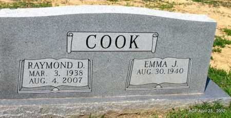 COOK, RAYMOND D - Lee County, Arkansas | RAYMOND D COOK - Arkansas Gravestone Photos