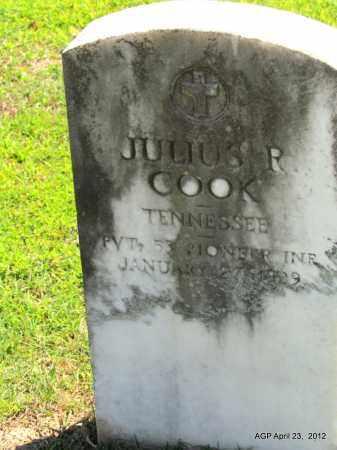 COOK (VETERAN ), JULIUS - Lee County, Arkansas   JULIUS COOK (VETERAN ) - Arkansas Gravestone Photos