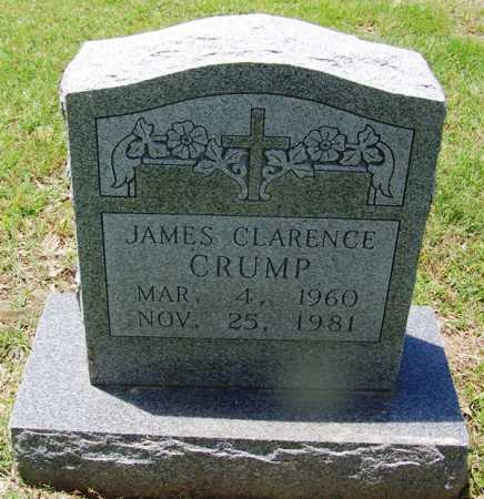 CRUMP, JAMES CLARENCE - Lee County, Arkansas | JAMES CLARENCE CRUMP - Arkansas Gravestone Photos