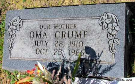 CRUMP, OMA - Lee County, Arkansas | OMA CRUMP - Arkansas Gravestone Photos