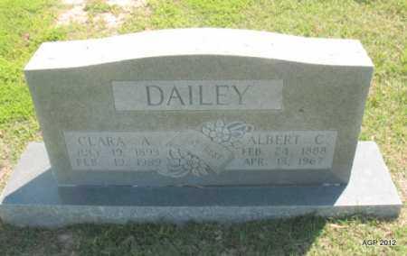 DAILEY, ALBERT C - Lee County, Arkansas | ALBERT C DAILEY - Arkansas Gravestone Photos