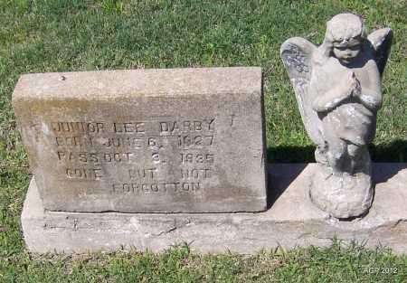 DARBY, JUNIOR LEE - Lee County, Arkansas   JUNIOR LEE DARBY - Arkansas Gravestone Photos