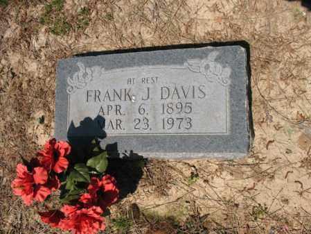 DAVIS, FRANK J - Lee County, Arkansas | FRANK J DAVIS - Arkansas Gravestone Photos