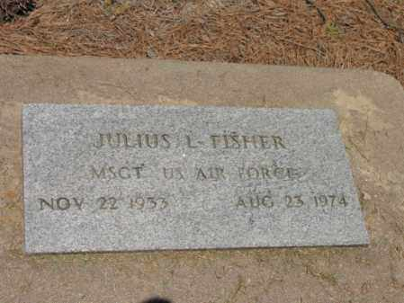 FISHER (VETERAN), JULIUS L - Lee County, Arkansas | JULIUS L FISHER (VETERAN) - Arkansas Gravestone Photos