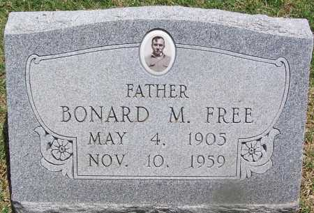 FREE, BONARD M - Lee County, Arkansas | BONARD M FREE - Arkansas Gravestone Photos