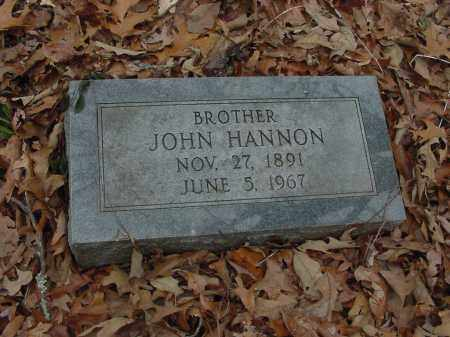 HANNON, JOHN - Lee County, Arkansas | JOHN HANNON - Arkansas Gravestone Photos