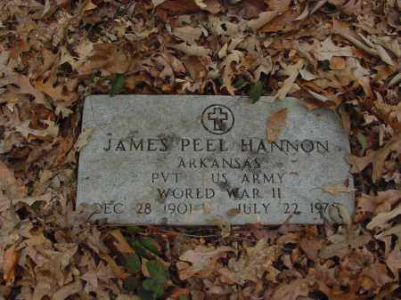 HANNON (VETERAN WWII), JAMES - Lee County, Arkansas | JAMES HANNON (VETERAN WWII) - Arkansas Gravestone Photos