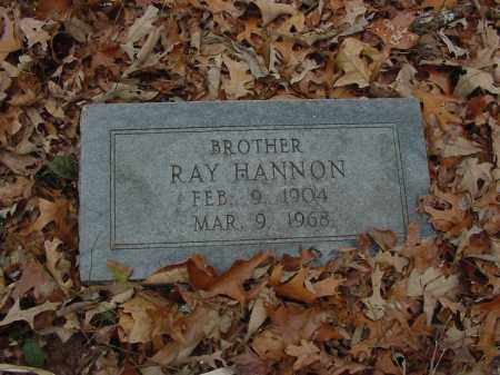 HANNON, RAY - Lee County, Arkansas | RAY HANNON - Arkansas Gravestone Photos