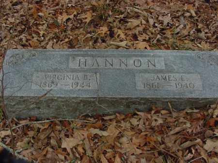 HANNON, VIRGINIA - Lee County, Arkansas | VIRGINIA HANNON - Arkansas Gravestone Photos