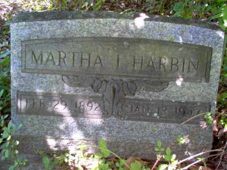 HARBIN, MARTHA I - Lee County, Arkansas | MARTHA I HARBIN - Arkansas Gravestone Photos