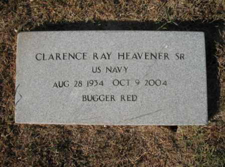 "HEAVENER, SR. (VETERAN), CLARENCE RAY ""BUGGER RED"" - Lee County, Arkansas | CLARENCE RAY ""BUGGER RED"" HEAVENER, SR. (VETERAN) - Arkansas Gravestone Photos"