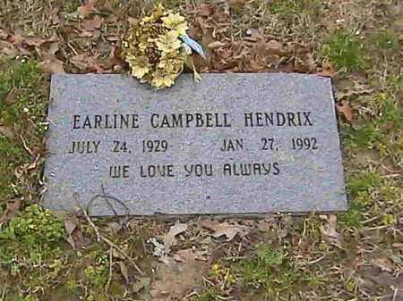 HENDRIX, EARLINE - Lee County, Arkansas | EARLINE HENDRIX - Arkansas Gravestone Photos