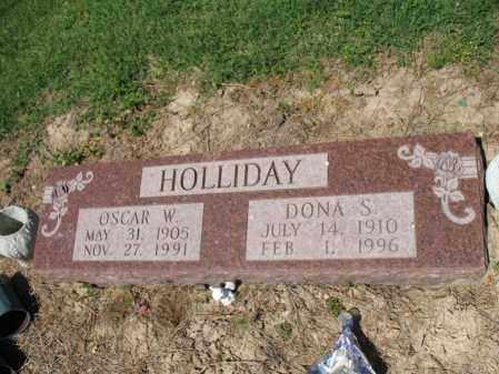 HOLLIDAY, DONA S - Lee County, Arkansas | DONA S HOLLIDAY - Arkansas Gravestone Photos