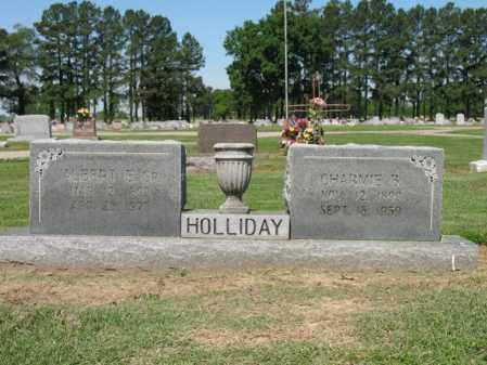 SHIRLEY HOLLIDAY, CHARMIE B - Lee County, Arkansas | CHARMIE B SHIRLEY HOLLIDAY - Arkansas Gravestone Photos