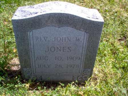 JONES, JOHN W, REV - Lee County, Arkansas | JOHN W, REV JONES - Arkansas Gravestone Photos