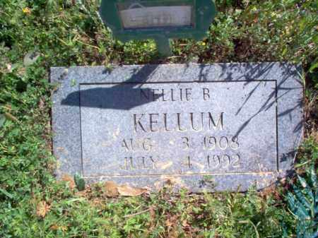 KELLUM, NELLIE B - Lee County, Arkansas | NELLIE B KELLUM - Arkansas Gravestone Photos