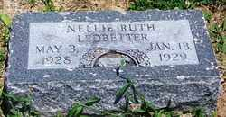 LEDBETTER, NELLIE RUTH - Lee County, Arkansas | NELLIE RUTH LEDBETTER - Arkansas Gravestone Photos