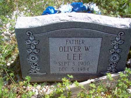 LEE, OLIVER W - Lee County, Arkansas | OLIVER W LEE - Arkansas Gravestone Photos
