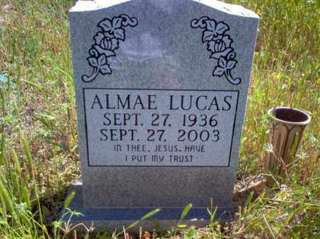 LUCAS, ALMAE - Lee County, Arkansas | ALMAE LUCAS - Arkansas Gravestone Photos