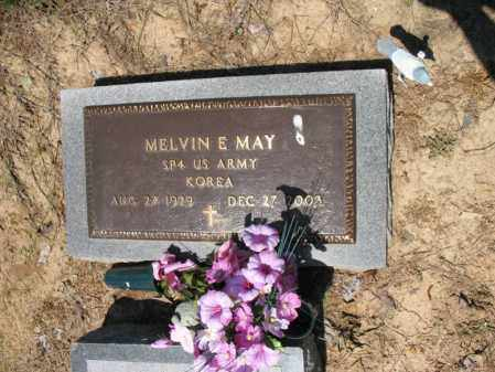 MAY (VETERAN KOR), MELVIN E - Lee County, Arkansas | MELVIN E MAY (VETERAN KOR) - Arkansas Gravestone Photos