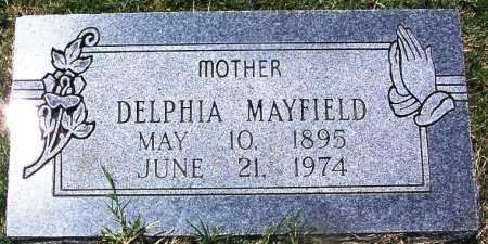 MAYFIELD, DELPHIA - Lee County, Arkansas | DELPHIA MAYFIELD - Arkansas Gravestone Photos