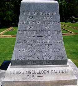 MCCULLOCH REED, LOUISE - Lee County, Arkansas | LOUISE MCCULLOCH REED - Arkansas Gravestone Photos