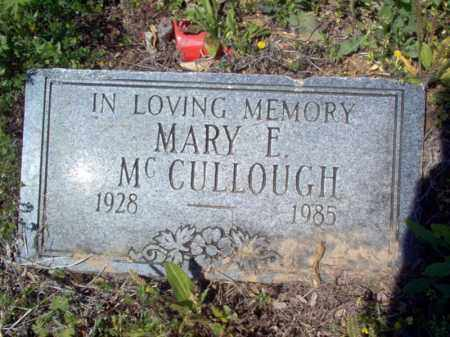 MCCULLOUGH, MARY E - Lee County, Arkansas | MARY E MCCULLOUGH - Arkansas Gravestone Photos