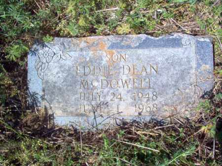 MCDOWELL, EDDIE DEAN - Lee County, Arkansas | EDDIE DEAN MCDOWELL - Arkansas Gravestone Photos