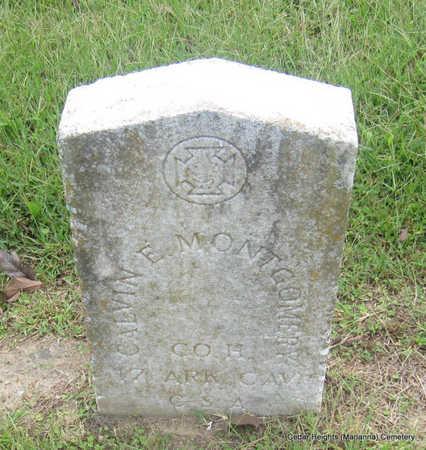 MONTGOMERY (VETERAN CSA), CALVIN E - Lee County, Arkansas | CALVIN E MONTGOMERY (VETERAN CSA) - Arkansas Gravestone Photos