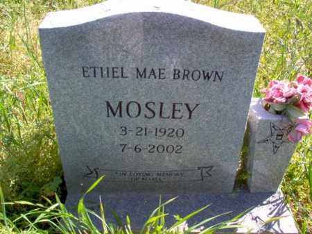 MOSLEY, ETHEL MAE - Lee County, Arkansas | ETHEL MAE MOSLEY - Arkansas Gravestone Photos
