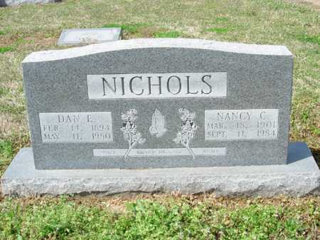 NICHOLS, DAN E. - Lee County, Arkansas | DAN E. NICHOLS - Arkansas Gravestone Photos