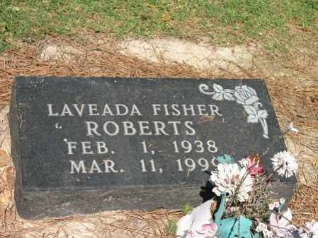 FISHER ROBERTS, LAVEADA - Lee County, Arkansas | LAVEADA FISHER ROBERTS - Arkansas Gravestone Photos