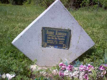 ROBINSON, BOBBIE - Lee County, Arkansas | BOBBIE ROBINSON - Arkansas Gravestone Photos