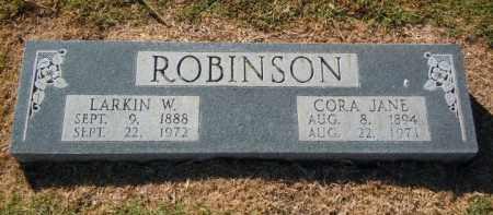 DAUGHTREY ROBINSON, CORA JANE - Lee County, Arkansas   CORA JANE DAUGHTREY ROBINSON - Arkansas Gravestone Photos
