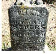 SEVERS, VELMA - Lee County, Arkansas | VELMA SEVERS - Arkansas Gravestone Photos