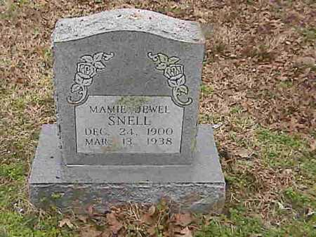 SNELL, MAMIE JEWELL - Lee County, Arkansas | MAMIE JEWELL SNELL - Arkansas Gravestone Photos