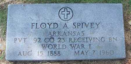 SPIVEY (VETERAN WWI), FLOYD A - Lee County, Arkansas | FLOYD A SPIVEY (VETERAN WWI) - Arkansas Gravestone Photos
