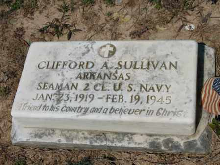 SULLIVAN (VETERAN), CLIFFORD A - Lee County, Arkansas | CLIFFORD A SULLIVAN (VETERAN) - Arkansas Gravestone Photos
