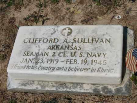 SULLIVAN (VETERAN), CLIFFORD A - Lee County, Arkansas | CLIFFORD A SULLIVAN (VETERAN) - Arkansas Gravestone Photos