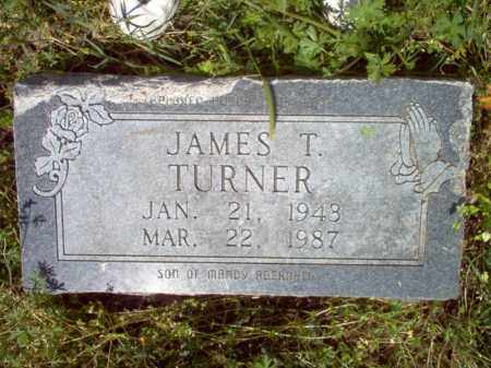 TURNER, JAMES T - Lee County, Arkansas | JAMES T TURNER - Arkansas Gravestone Photos