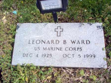WARD (VETERAN), LEONARD B - Lee County, Arkansas   LEONARD B WARD (VETERAN) - Arkansas Gravestone Photos