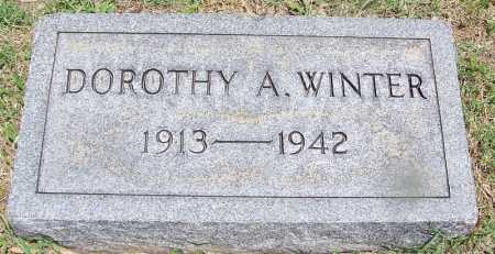 WINTER, DOROTHY A - Lee County, Arkansas | DOROTHY A WINTER - Arkansas Gravestone Photos