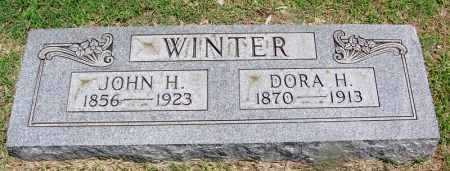 WINTER, JOHN H - Lee County, Arkansas | JOHN H WINTER - Arkansas Gravestone Photos