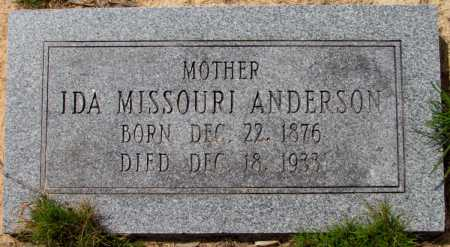 ANDERSON, IDA MISSOURI - Lincoln County, Arkansas | IDA MISSOURI ANDERSON - Arkansas Gravestone Photos