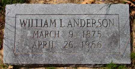ANDERSON, WILLIAM L - Lincoln County, Arkansas | WILLIAM L ANDERSON - Arkansas Gravestone Photos