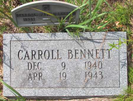 BENNETT, CARROLL - Lincoln County, Arkansas | CARROLL BENNETT - Arkansas Gravestone Photos