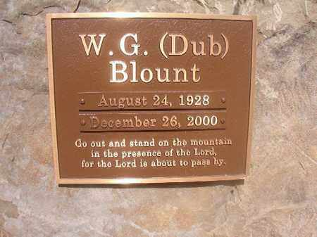 BLOUNT, W G (DUB) - Lincoln County, Arkansas | W G (DUB) BLOUNT - Arkansas Gravestone Photos