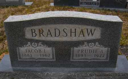 BRADSHAW, PRUDIE A - Lincoln County, Arkansas | PRUDIE A BRADSHAW - Arkansas Gravestone Photos